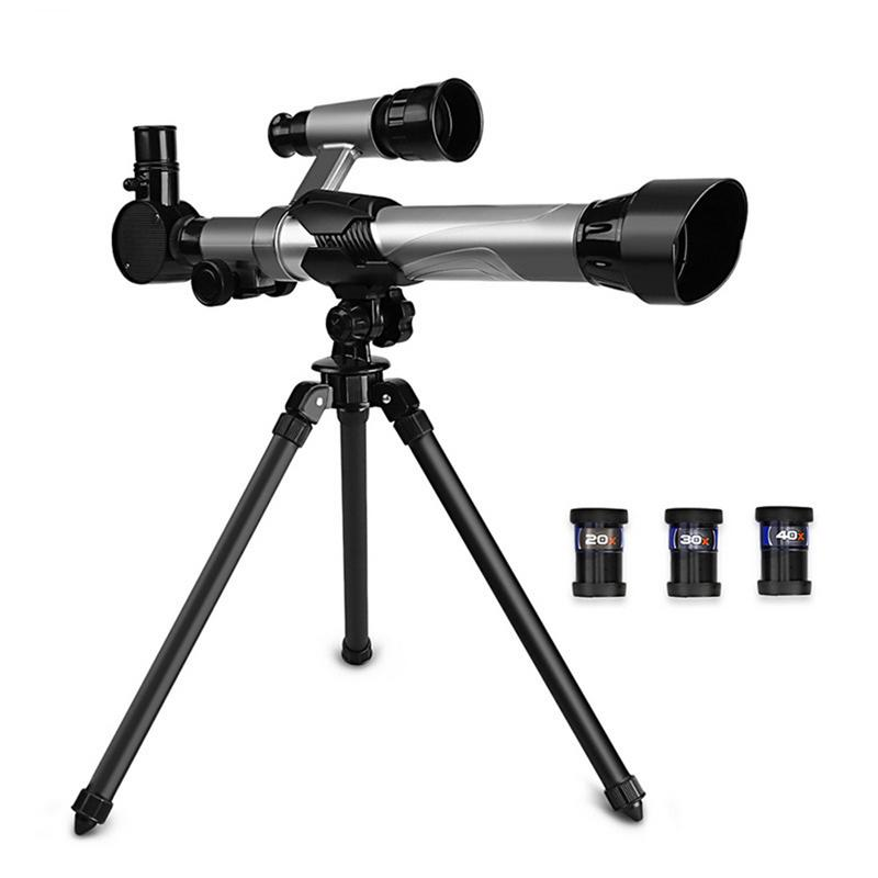 Science Education Telescope With Tripod Adjustable Lever For Children Interest Cultivation Toy For Children Gift Kid Toy