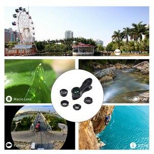 Image 4 - Apexel Optic Lens 198 Fisheye 150 Wide Angle &15x Macro 2X Tele CPL filter Phone Camera Clip Lens for iPhone Xiaomi Samsung DG5