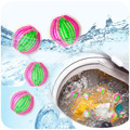 6Pcs/Lot Hair Removing Magic Decontamination Cleaning Laundry Balls Clothes Winding Unhair Washing Balls For Washing Machine