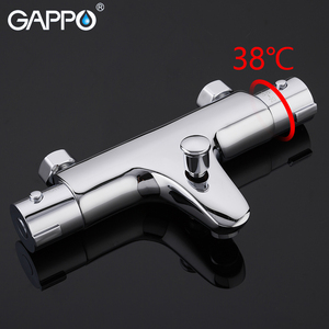 Image 3 - GAPPO Shower faucets thermostatic bath mixer with thermostat mixer faucets wall mounted waterfall bathtub faucet Y30504