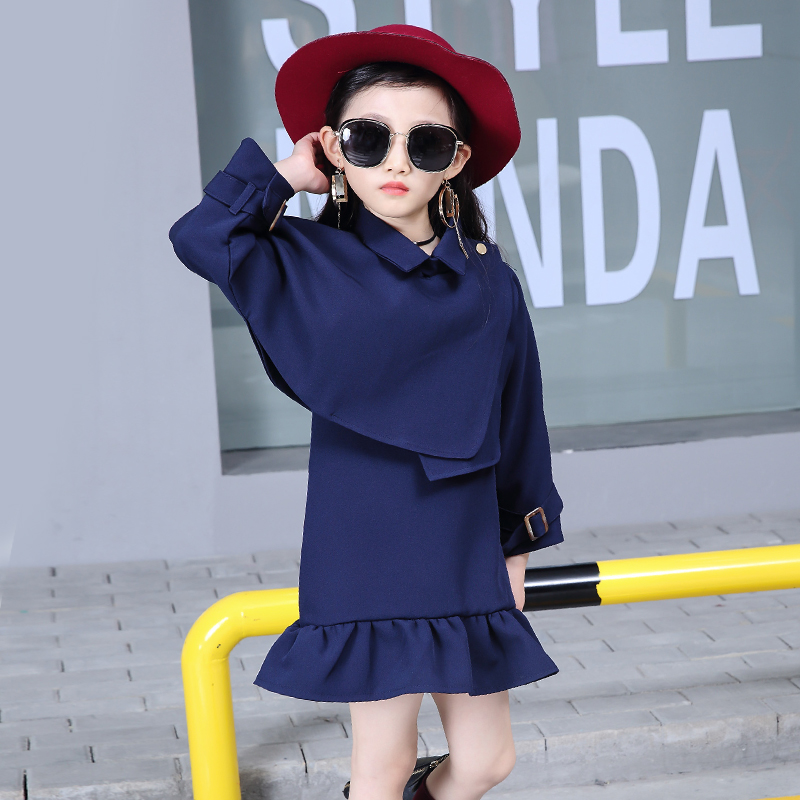 New 2018 Spring Autumn Girls Set Children Tracksuit kids clothing suit baby girls Outerwear +Vest skirt 2 pcs sets suit 3 Colors high quality new spring autumn girls clothing sets kids clothes girls solid skirt tops set children clothing
