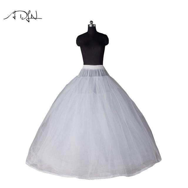 7944c8c3d Despeje ADLN vestido estilo 7 capa no aro tul enagua blanca de la ...