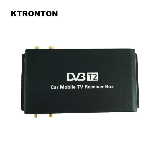 180-200km/h Speed Driving DVB-T2 Car Digital TV Receiver Box with 4 Antennas four Mobility Tuners auto DVB T2 HD 1080P USB HDMI