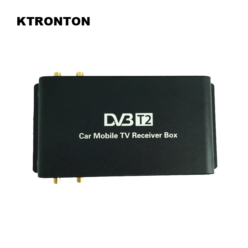 180 200km/h Speed Driving DVB T2 Car Digital TV Receiver Box with 4 Antennas four Mobility Tuners auto DVB T2 HD 1080P USB HDMI