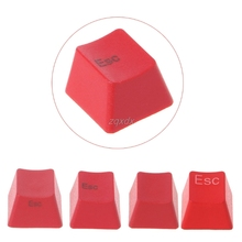 Mechanical Keyboard Thick PBT Red ESC Keycap R4 Cherry MX Switch OEM Height Drop ship цена 2017