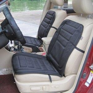 Image 3 - Чехол для автомобильного сиденья с подогревом 12 В, электрическая зимняя подушка для автомобильного сиденья, подогреватель сиденья