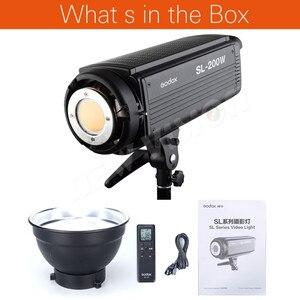 Image 2 - Godox SL 200W 200Ws 5600 K LED ต่อเนื่อง Photo Video Light w/Remote ฟรี DHL
