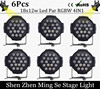 Best Price 6Pcs Lots 18x12w Led Par Lights RGBW 4in1led Dmx512 Disco Lights Professional Stage Dj