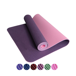 183*61cm*6mm TPE Exercise Yoga Mat Pad Non-Slip Lose Weight Exercise Fitness Folding Gymnastics Mat For Fitness