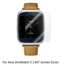 3* Clear LCD PET Film Anti-Scratch Screen Protector Cover for Asus ZenWatch 2 1.63″