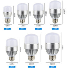 Купить с кэшбэком Led Bulb Light E27 110V 220V 230V Bubble Ball Lamp 5W 7W 9W 12W 15W 18W 22W 5630 5730 SMD Warm White 3000K 6500K Super Bright