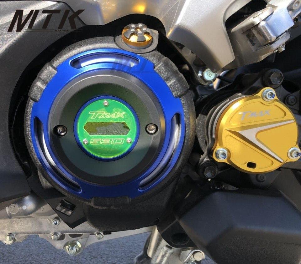 MTKRACING мотоцикл для Ямаха Т Макс 530 ТМАХ 530 DX и SX в 2017-2018 ЧПУ Двигатель Защитная Крышка Тмакс двигателя статора Крышка