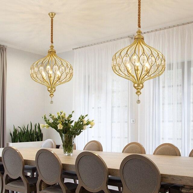 Modern Crystal Chandelier Lighting For Kitchen Bedroom Art deco LED Chandelier Ceiling Suspended Lamps candelabro de cristal