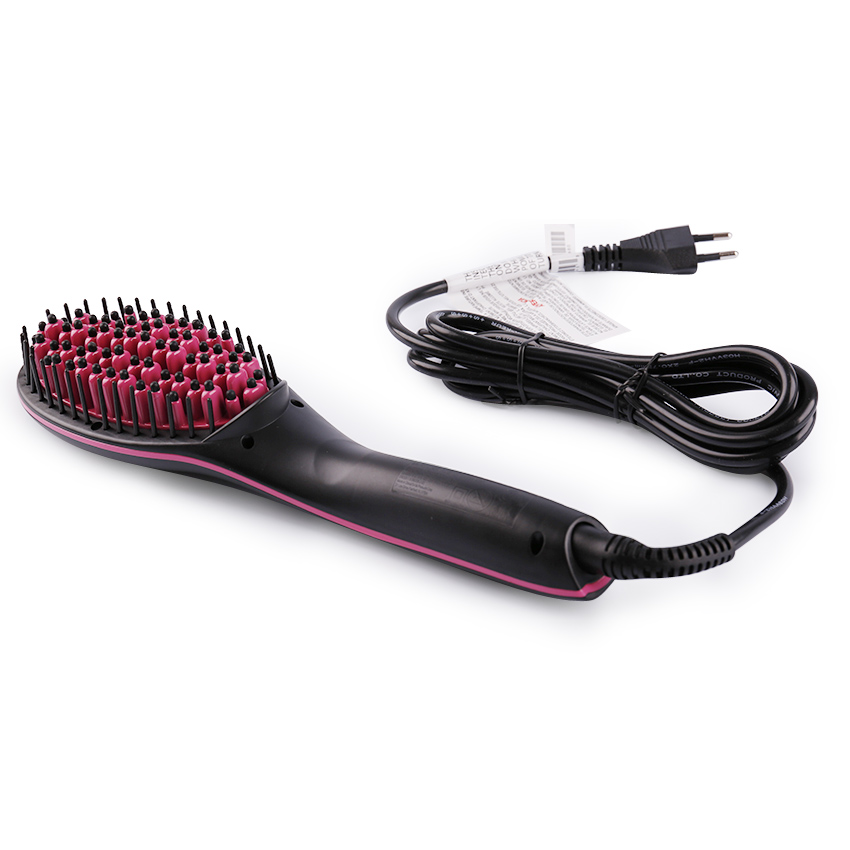 Electric Hair Straightener Brush Free Shipping Worldwide