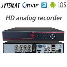 Jvtsmart AHD DVR 4 ערוץ 8 ערוץ וידאו מקליט 5in1 CCTV AHD CVI TVI אנלוגי IP היברידי אבטחת DVR 1080 P 1080n NVR 4CH 8CH xm