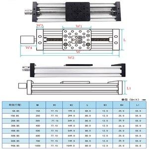 Image 3 - 3D Z Stampante c fascio T8 Vite di Comando OD 8 millimetri Passo 2 millimetri 150 millimetri 200 millimetri 250 millimetri 300 millimetri di CNC tavolo scorrevole attuatore lineare fascio kit