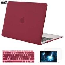 MOSISO 2019 ใหม่แล็ปท็อปสำหรับ MacBook Air 13 Case 2018 พร้อมฝาครอบคีย์บอร์ดคริสตัล Matte Hard Case สำหรับ macbook A1932