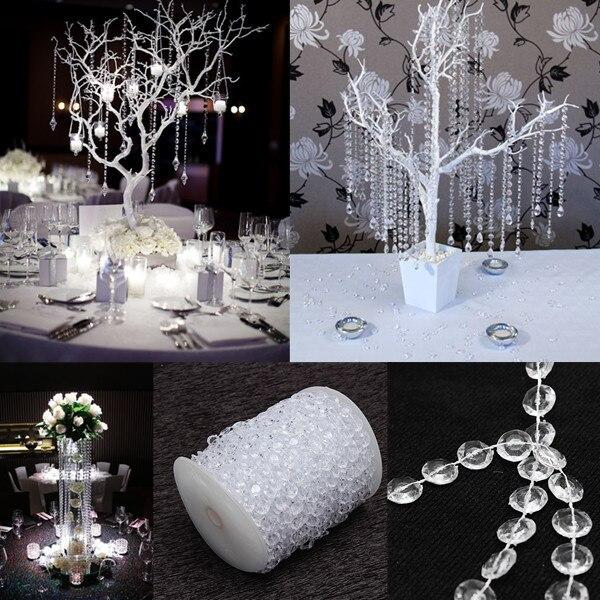 99 ft diamant guirlande strand cristal acrylique perle de mariage dcoration romantique de mariage partie dco - Aliexpress Decoration Mariage