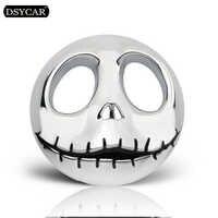 DSYCAR 1pcs 3D Metal Pumpkin King Car sticker logo Emblem Badge Car Styling stickers for Universal Cars Motorcycle Decorative