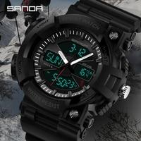 Nieuwe S Shock Thermometer Mode mannen Sport Horloge LED Digitale Horloge mannen Luxe Merk Militaire Waterdicht Mannen horloge