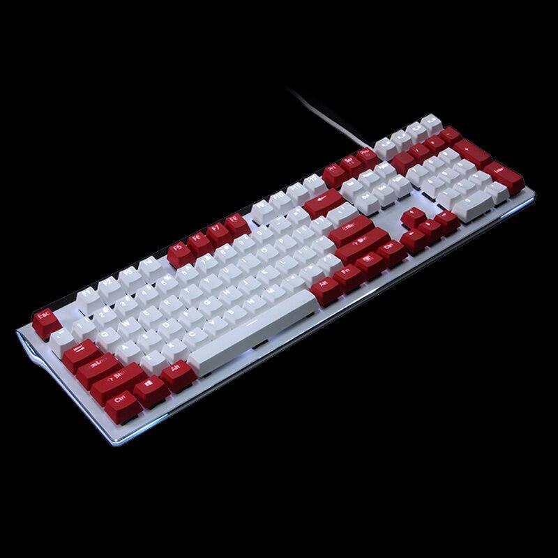 Kbdfans 108 clé PBT Double tir Translucidus rétroéclairé Keycaps pour Corsair K65 K70 Logitech G710 clavier mécanique touches iso