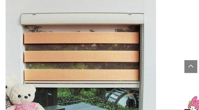 Gordijn Als Scheidingswand : Moderne gordijn schaduw blinds voor windows opknoping scheidingswand