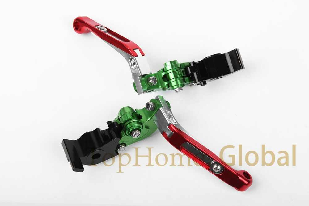 For APRILIA RSV4/ RSV4 FACTORY 2009 - 2018 CNC Foldable Extendable Brake Clutch Levers 2010 2011 2012 2013 2014 2015 2016 2017