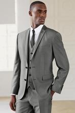 2018 best selling groom dress, gray wedding best man boy for men's tail coat (coat + pants + tie + groom vest)
