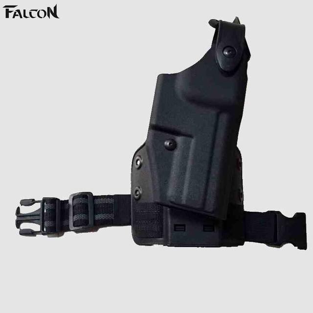 FS nd 6005 Black leg Drop Holster H&K USP 9, 40 SLS Hood Quick ...