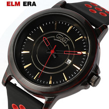 ELMERA Relogio Masculino 2019 Luxury Brand Men Military Sports Watches Men's Quartz Date Clock Man Casual Leather Wrist Watch 2016 top brand luxury analog men military sports watches mens quartz leather date clock man casual wrist watch relogio masculino
