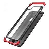 New Bumper For Apple IPhone 7 Case 6 6S Plus Transparent Clear 9H Glass Cover Aluminum