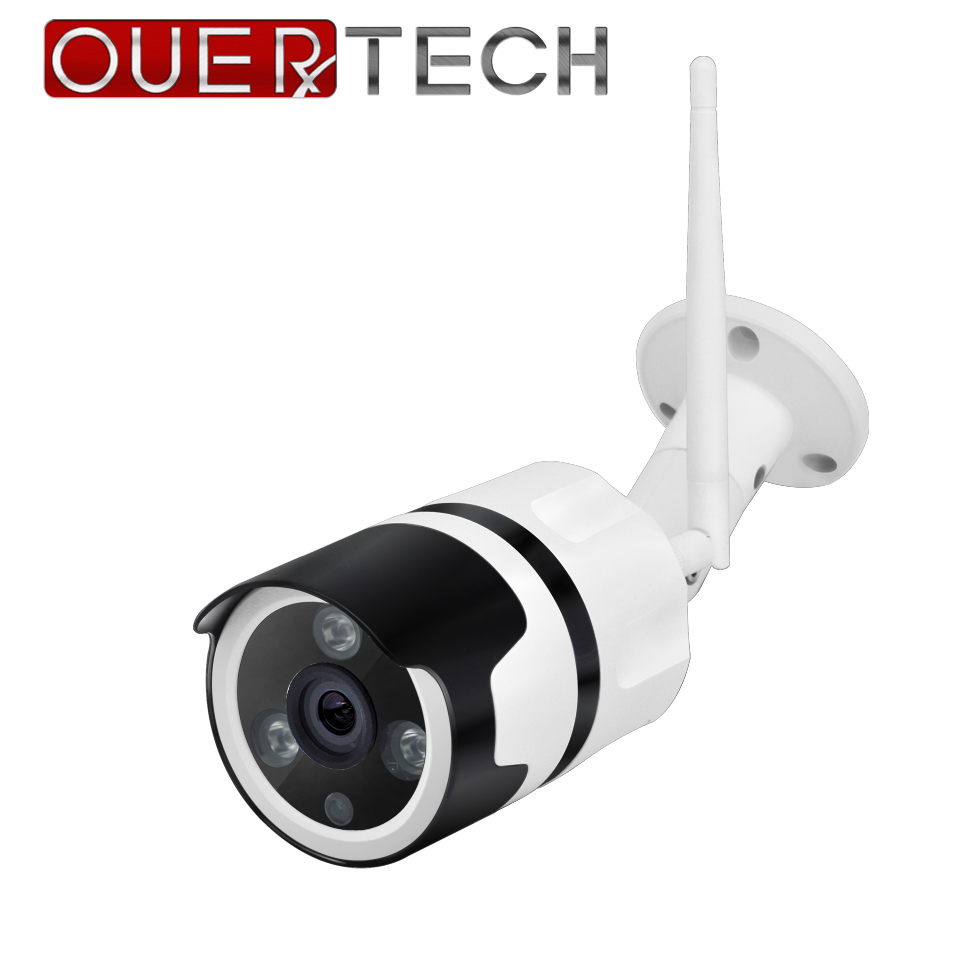 OUERTECH 3MP 5MP Two way audio WIFI Wired ONVIF P2P CCTV Bullet Outdoor WI FI Camera