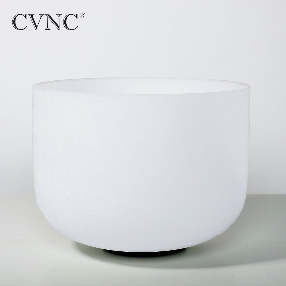 CVNC 7 Inch any Note  C D E F G A B C# D# E# F# G# A#  Chakra  Frosted Crystal Quartz Singing BowlCVNC 7 Inch any Note  C D E F G A B C# D# E# F# G# A#  Chakra  Frosted Crystal Quartz Singing Bowl