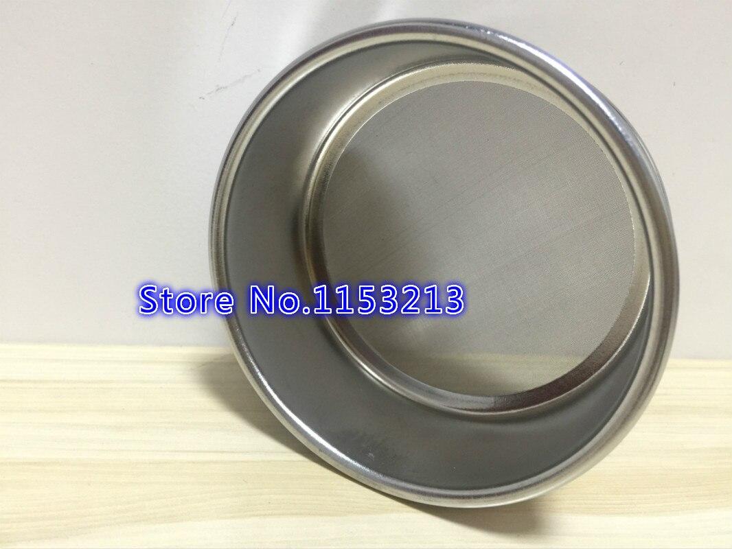 R10cm Aperture 2.5/2.8/3.2/4/5mm 304 stainless steel Standard Laboratory Test Sieve Sampling Inspection Pharmacopeia sieve H 5cmR10cm Aperture 2.5/2.8/3.2/4/5mm 304 stainless steel Standard Laboratory Test Sieve Sampling Inspection Pharmacopeia sieve H 5cm