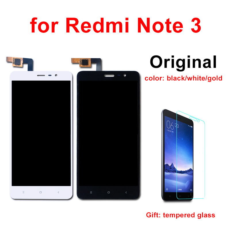 for Xiaomi Redmi Note 3 LCD Original Display Touch Screen with Frame 5.5 inch 150mm for Redmi Note 3 Pro LCD-in Mobile Phone LCD Screens from Cellphones & Telecommunications