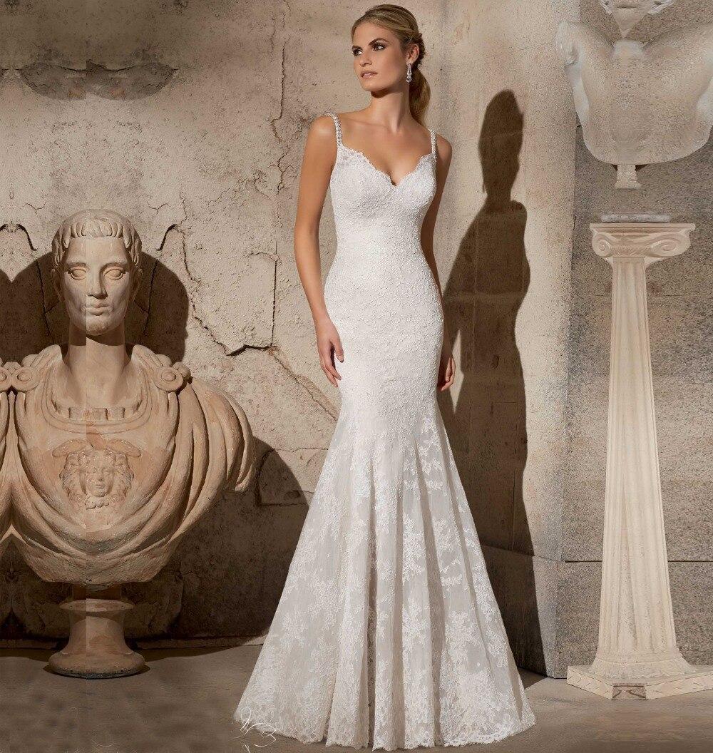 Resultado de imagem para vestido para casamento de sereia 2017