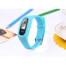 Men and women Pedometer LCD Multifunctional Electronic Watch Wristband Step Distance Calorie Counter sports Pedometer