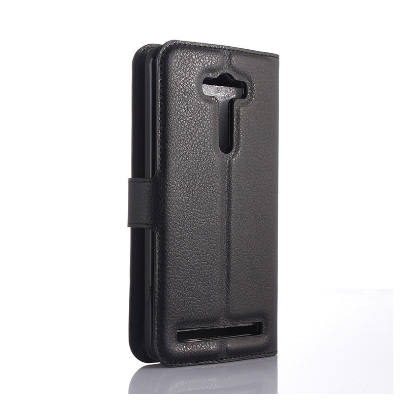 Lyxig plånbok Flip PU-läderfodral för Asus Zenfone 2 Laser ZE500KL - Reservdelar och tillbehör för mobiltelefoner - Foto 5