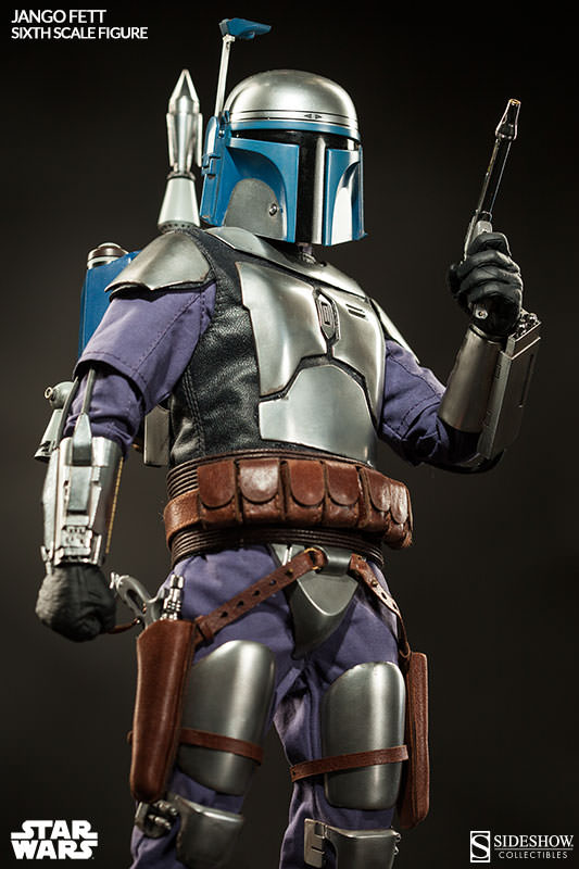1/6 scale Figure doll Star Wars Bounty Hunter Jango Fett.12 action figures doll.Collectible figure Model toy gift play arts star wars the force awakens boba fett figure action figures gift toy collectibles model doll 204