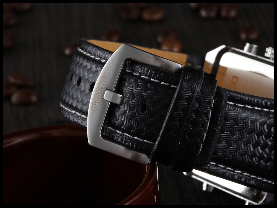 Hot Fashion OHSEN Brand Men Sports Watches Analog Casual Quartz 3ATM Waterproof Sport Military Watch Men Relogio Male Clock Gift (22)
