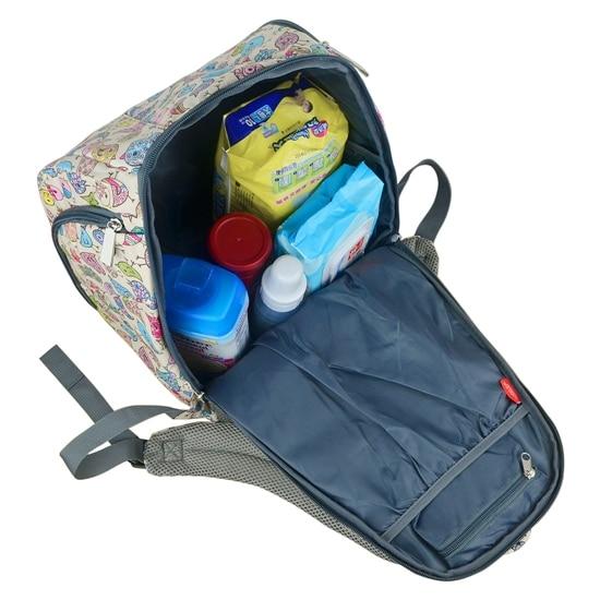 mommore Multifunkcionális Bolsa Maternidade Baby Pelenka táskák - Pelenkák és WC képzés - Fénykép 6