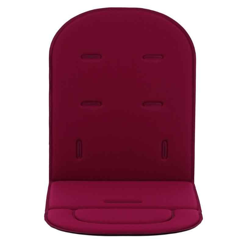 Confortável almofada de carrinho de bebê quatro estações geral macio assento almofada do carrinho de criança esteira do assento crianças pushchair almofada para recém nascido