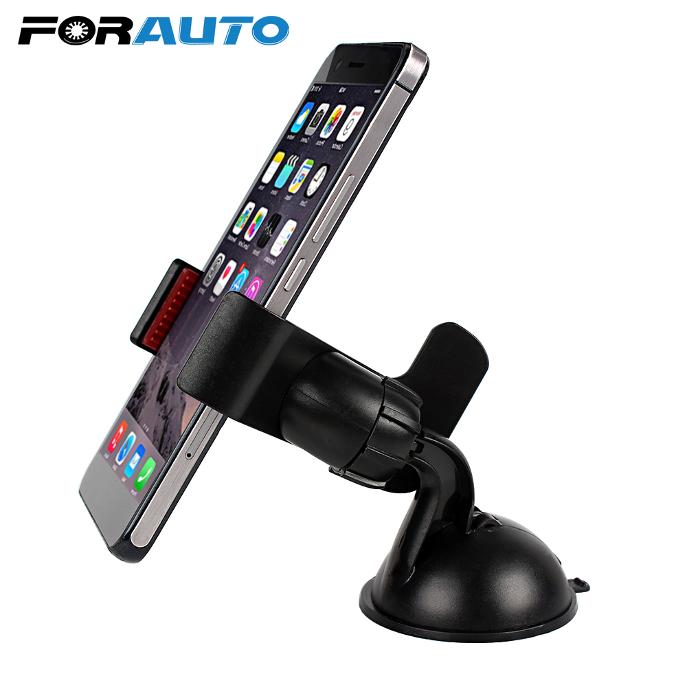 Automobile Windsheild Telefon tutucu Phone Holder For The Car Accessories Dashboard Suporte celular 360 Degree Rotating 1 pc