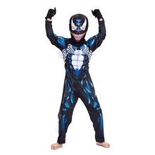 Horror Venom Costumes Kids Spiderman Costume Halloween For disfraz Scary Muscle Suit Child