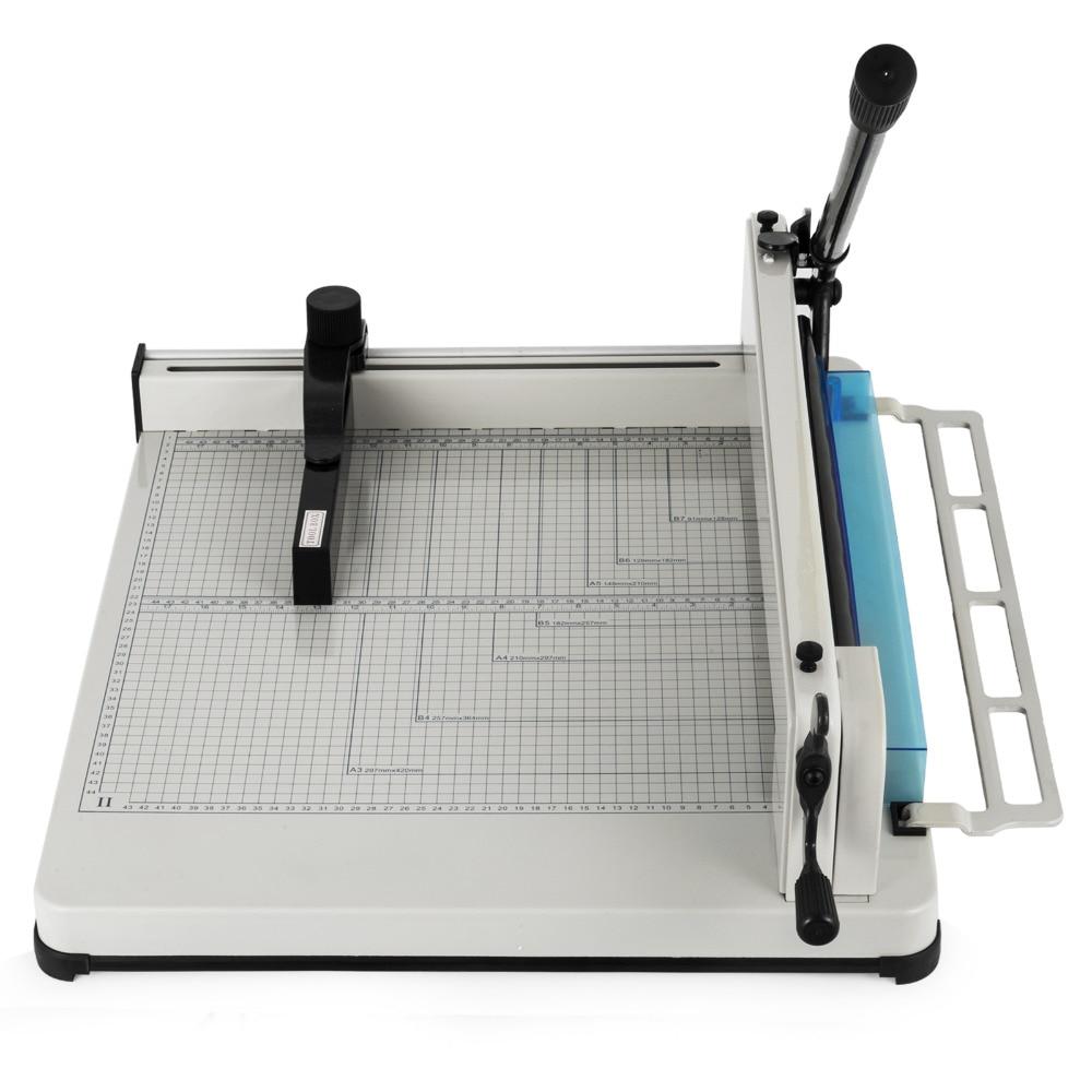 Paper Cutter Guillotine Machine 17 Inch Heavy Duty Paper Cutting Tool (17 Inch A3 Patter Cutter)