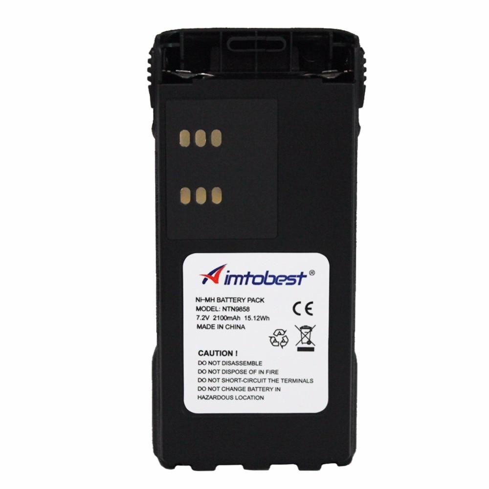 NTN9858 2100mAh Ni-Mh Battery For MOTOROLA Radio XTS1500 XTS2500 MT1500 PR1500 NNTN7554 NTN9815 NTN9816 NTN9857 NTN9858C Battery