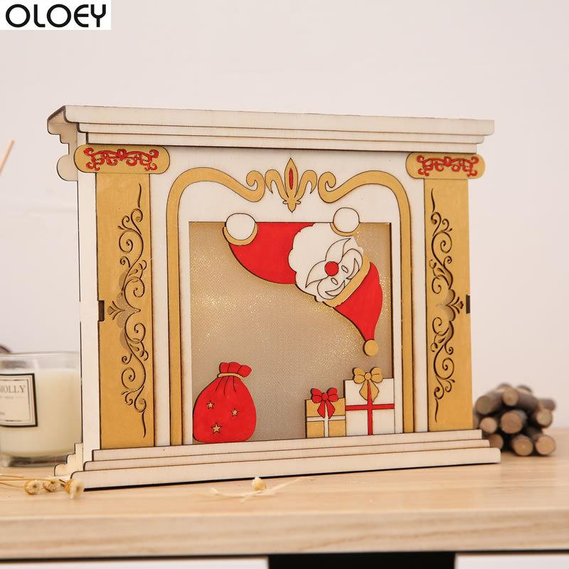 Aliexpress.com : Buy Christmas Decorations Glow Fireplace