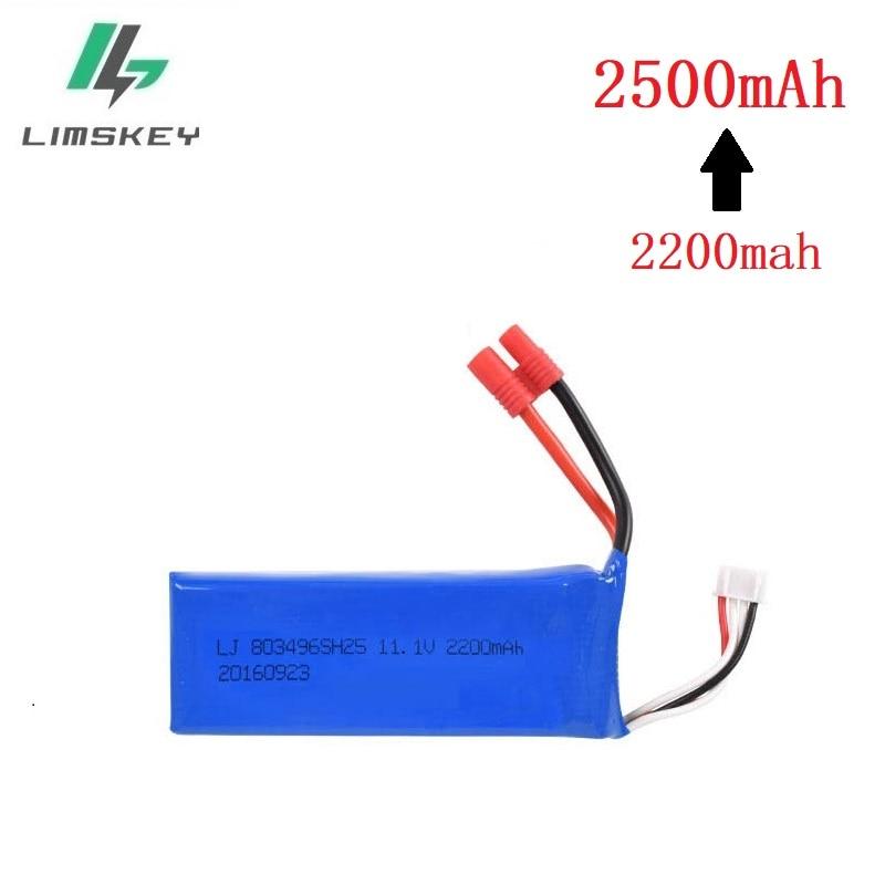 Actualizado batería para BAYANGTOYS X16 X21 X22 11,1 V 2200 mah a 2500 mah para X16 x21 batería para RC piezas de Repuesto cuadricóptero 803496