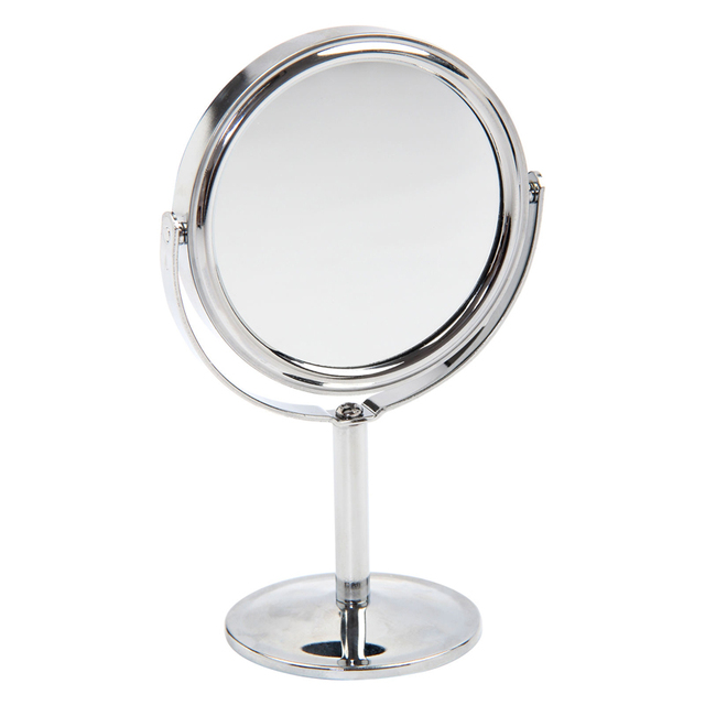 VANTAS Makeup Mirror Cosmetic Table Mirror Double Side Normal Magnifying Stand  Mirror M001T
