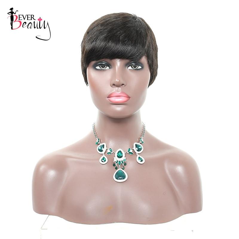 Aliexpress.com : Buy Ever Beauty Straight Human Hair Wigs ...